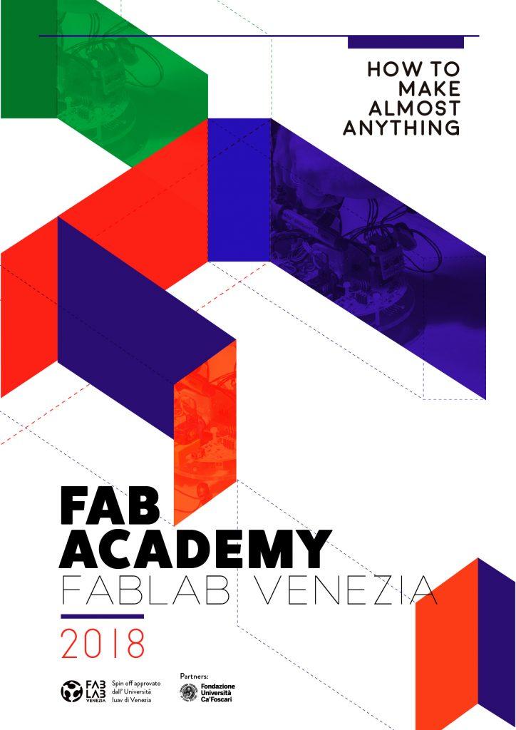 Locandina FAb Academy 2018 Fablab Venezia