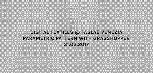 Workshop Parametric patterns with Grasshopper
