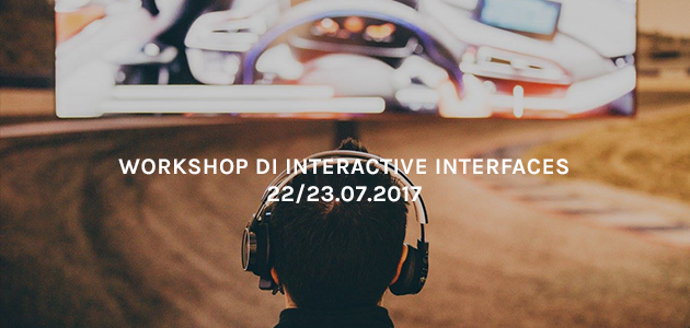Workshop di Interactive Interfaces