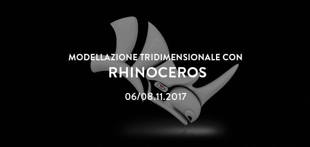 Corso di modellazione 3D con Rhinoceros