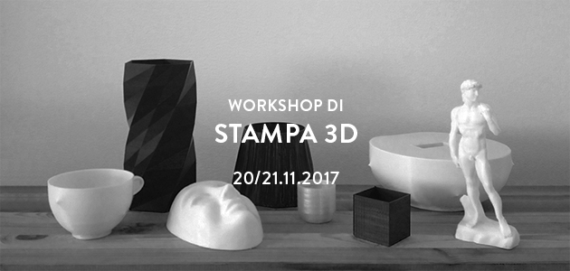 Workshop di Stampa 3D