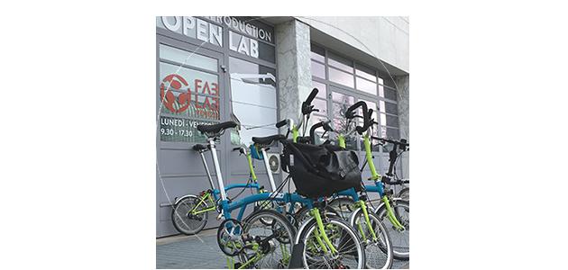 Pedalata collettiva per il Brompton Bike Sharing