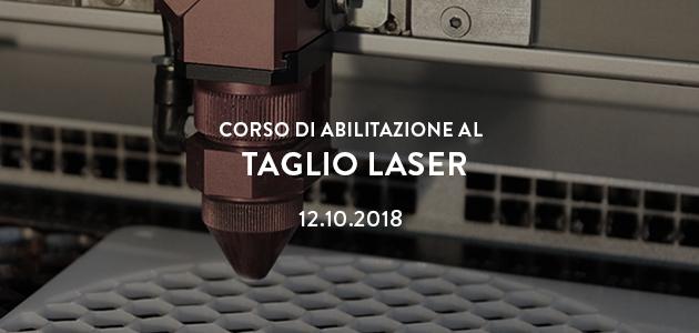 Abilitazione al taglio laser – ottobre 2018