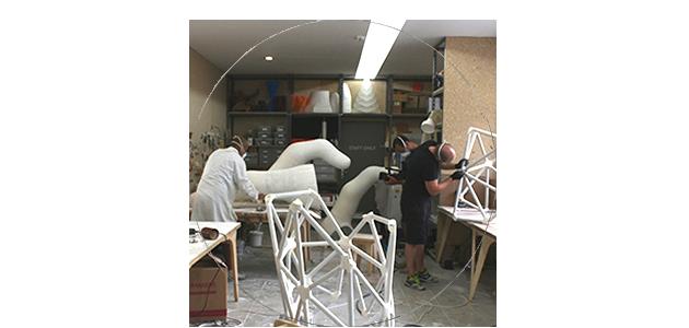 La fabbricazione digitale per il grande formato: la mano del colosso a Homo Faber