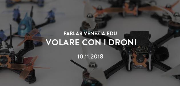 Volare con i droni