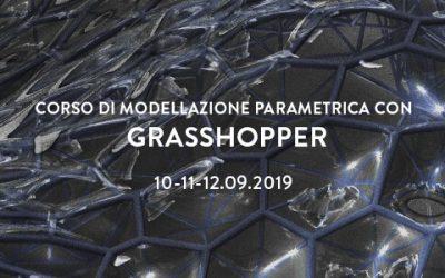 Corso di Modellazione Parametrica con Grasshopper – estate 2019