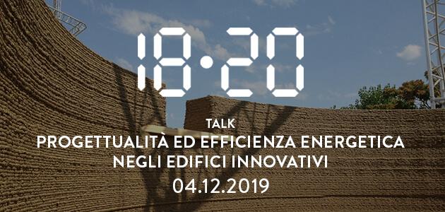Efficienza energetica ed edifici innovativi – 04.12.2019