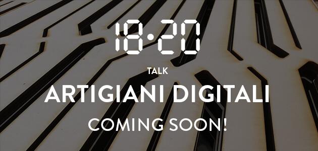 Talk Artigiani digitali – coming soon