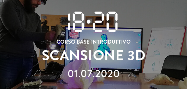 Workshop di scansione 3d – 01.07.2020